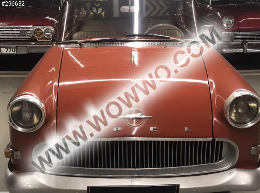 opel opel rekord 1958 model