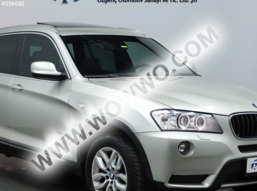 bmw x3 20d xdrive exclusive 127,000 km