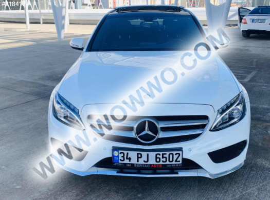 mercedes - benz c serisi 71,000 km 2016 model