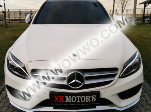 mercedes - benz c serisi 53,000 km 2017 model