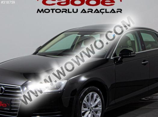 2016 model audi a4 sedan 1.4 tfsi design