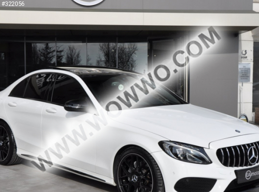 2017 model mercedes - benz c serisi c 200 d bluetec amg
