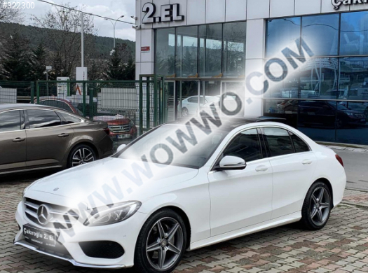 mercedes - benz c serisi c 200 d bluetec amg 2016 model