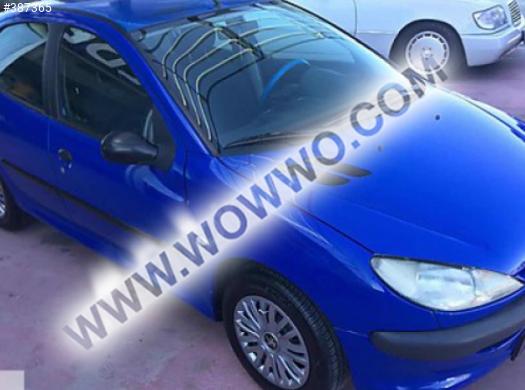 2001 model peugeot 206 1.4 xr